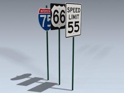 3d signs series 7 model