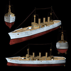 3ds max ship sms victoria luise