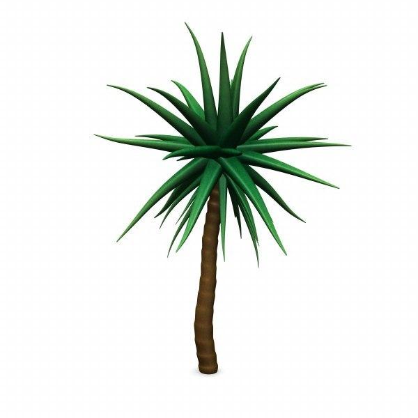 3d model plant suculent