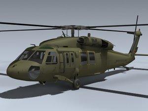 maya uh-60l blackhawk