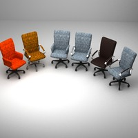 Set of conference room chairs
