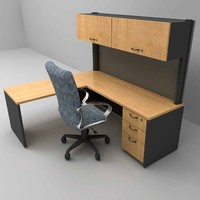 workstation, set of  furniture