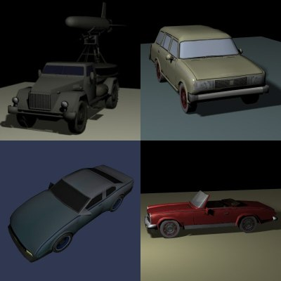 3ds car truck vehicle