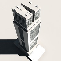 skyscraper buildings 3d max