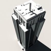 3d skyscraper buildings