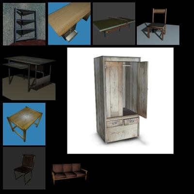 3ds max furniture pack