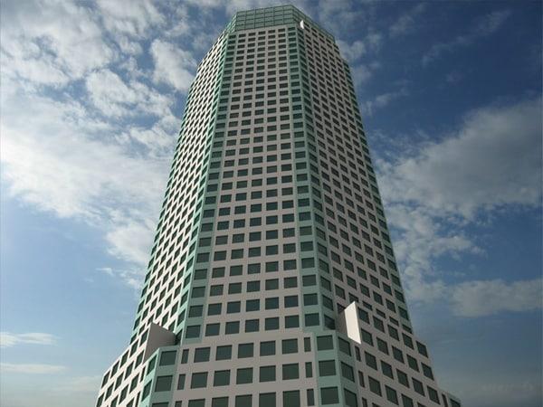 3d model bear stearns world headquarters
