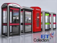 3d bt phone box