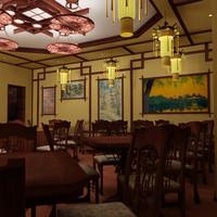 interier restaurant 3d max