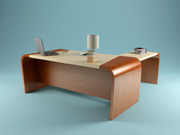 free codutti minos boss-table 3d model