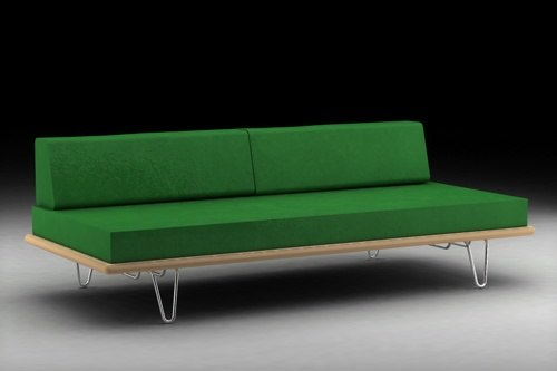 3dsmax daybed george nelson