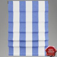3d roman curtain model