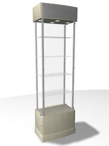 tower showcase 3d model