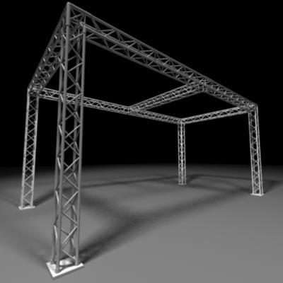 3d model truss
