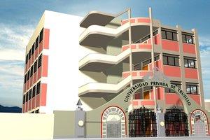 school building 3d max