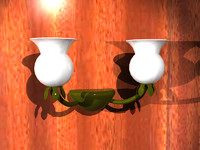 wall sconce dxf free