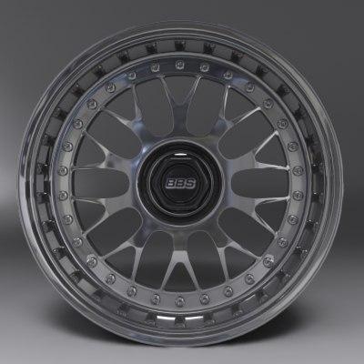 3d bbs rim model