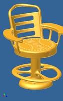 free stool 3d model