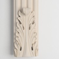 column decoration 3d model