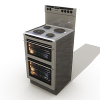 cook cooker 3d model