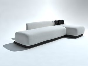 couch sillon 3d model