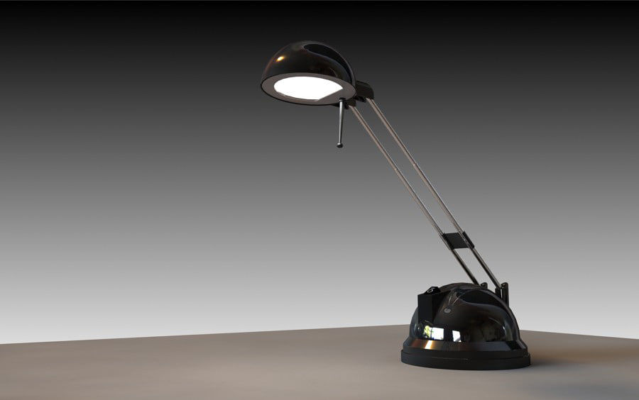Desk Lamp Ikea 3d Model