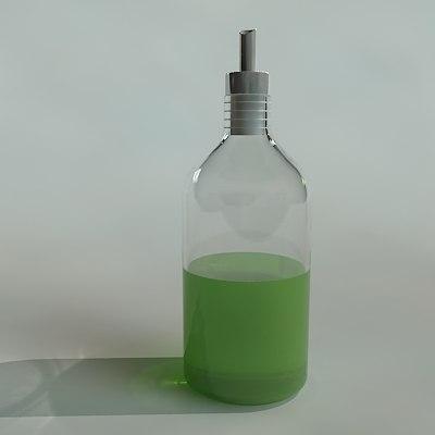 wash liquid dispenser 3d model