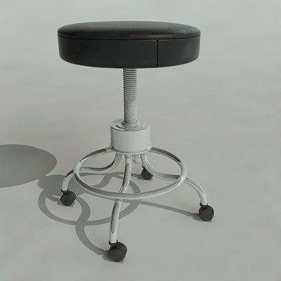 doctors chair 3d model