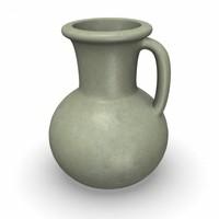 3ds max egyptian vase