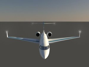 3d model jet