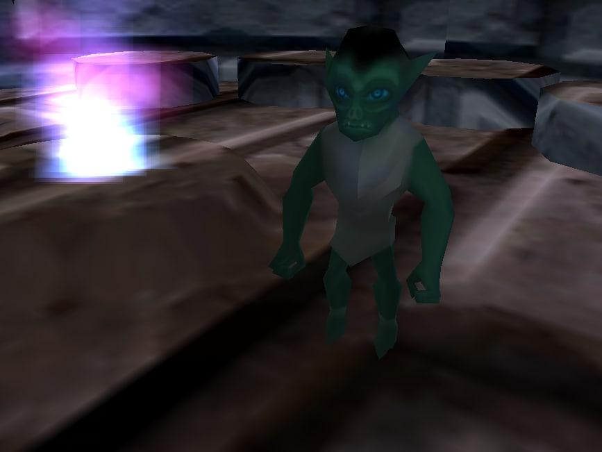3d goblin medieval