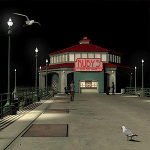 3d hb pier dinner 01 model
