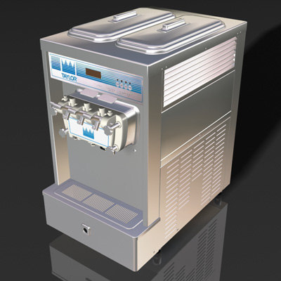 ice cream dispenser 3d model