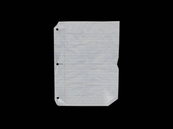 3d sheet paper