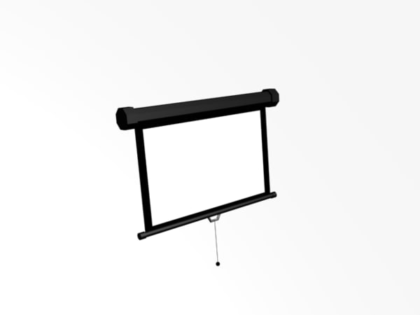 3ds max projector screen