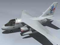 3d model s-3b viking navy 1
