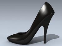 womens shoe 1 3d max