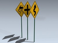 3d model signs series 3