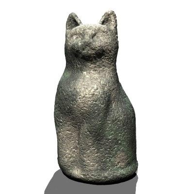 3d cat ornament garden workwithnaturefo