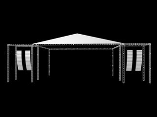 outdoor truss 3d model