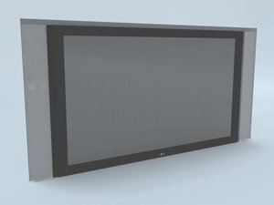 3d model tv t v
