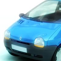 3d renault twingo model