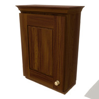 3d model kitchen wall cupboard