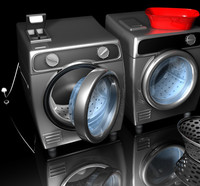 3d washer dryer