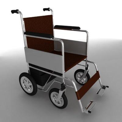 electric wheel chair fbx