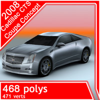 2008 Cadillac-CTS Coupe Concept