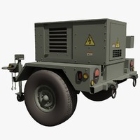 US Military 5kW Mobile Generator