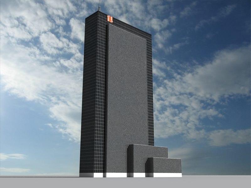 3d model penn plaza new york