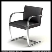MR Flat Brno Chair