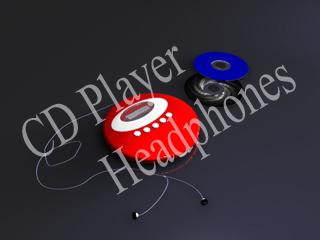 cd player 3d model